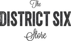 Logo THE DISTRICT SIX STORE