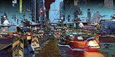 Art Print: Taxis Art Print by Cédric Bouteiller by Cédric Bouteiller : Nancy Tillman, Sailing Regatta, Famous Words, Vintage Race Car, Banksy, Find Art, Framed Artwork, Balloons, Art Prints