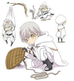 雛鶴ちゃん Token, Touken Ranbu Characters, Anime Child, Manga Boy, Albino, Noragami, Anime Love, Chibi, Images