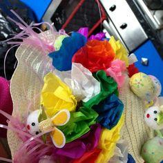 Tissue flower bonnet