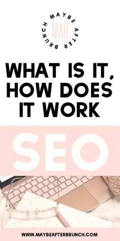 SEO, or search engine optimization, can be the make or break secret to a profita. Search Engine Marketing, Seo Marketing, Content Marketing, Marketing Websites, Marketing Ideas, Business Marketing, Affiliate Marketing, Make Money Blogging, How To Make Money