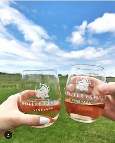Hey sun. Hey blue skies. Hey warm weather.  We miss you. Please come see us again soon at the Wolffer Estate Vineyard in Montauk   @wolfferwine - Who would you be cheersing with on a warm afternoon? - Tag #redvelvetrope to be featured -  #luxurytravel  #travelluxury