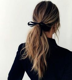 adorable ponytail for the holidays