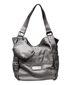 Another great find on #zulily! Pewter Bowery Tote by Franco Sarto #zulilyfinds