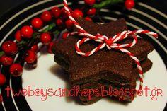 Τα πιό τέλεια μπισκότα σοκολάτας.. - Two Boys and HopeFacebookInstagramPinterestRSS