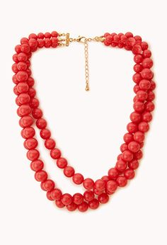 Candy-Coated Bead Necklace from Forever 21