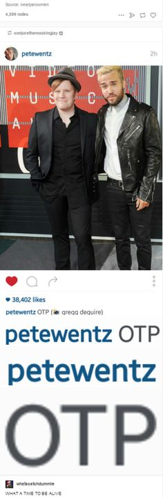 Peterick is OTP (one true pairing)