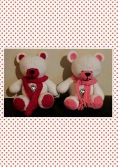 FF friends bears. Patroon *My Krissie Dolls*