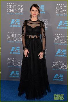Felicity Jones in Dolce & Gabbana