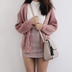 grafika fashion, outfit, and pink