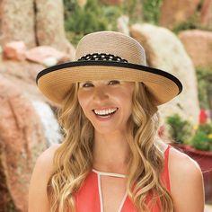 ce637761 Julia Women's Sun Protection Hat – Wallaroo Hat Company Sun Protection Hat,  Chiffon Scarf,