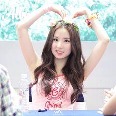 #eunha #gfriend #jungeunbi Girl Day, My Girl, South Korean Girls, Korean Girl Groups, K Pop, Asian Woman, Asian Girl, Jung Eun Bi, Cut Her Hair