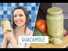 GUACAMOLE (pasta à base de abacate): como fazer e armazenar - YouTube