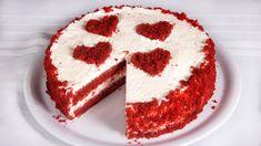 Vörös bársony torta (Szécsi Szilvi) Velvet Cake, Red Velvet, Unsweetened Cocoa, Baking Soda, Icing, Caramel, Vanilla, Make It Yourself, Snacks