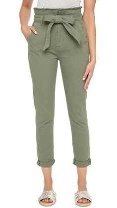 7 For All Mankind Paper Bag Waist Jeans | SHOPBOP SAVE UP TO 25% Use Code:GOBIG15