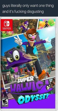 Waluigi Odyssey | Guys Literally Only Want One Thing And It's Fucking Disgusting | Know Your Meme