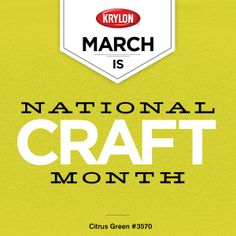 Want #free paint? Check out our Facebook page later today for your chance to #win! Facebook.com/KrylonBrand #NationalCraftMonth