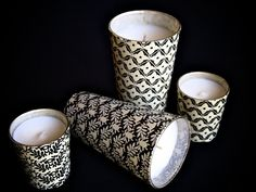 #candle #candles #packaging #pattern http://www.mooreshomeandgarden.com