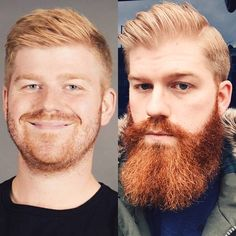 Three years and a beard. Left version: friendzoned. Right version. Lay that pipe baby.