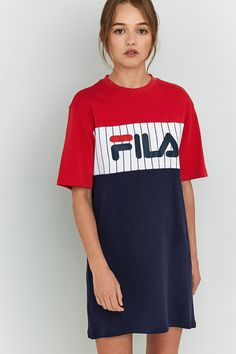"""Slide View: 1: Fila – T-Shirt-Kleid """"Ruby"""""""