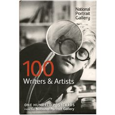 100 Writers and Artists - Postcards from The National Portrait Gallery