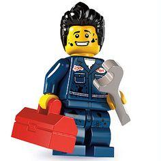 LEGO Minifigures Series 6 15-16 - Mechanic
