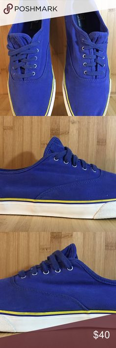 ♻️ Polo Ralph Lauren Fashion Sneakers Size 12 Polo Ralph Lauren Fashion Sneakers  Size - 12  color - Blue/Yellow  great condition Polo by Ralph Lauren Shoes Sneakers