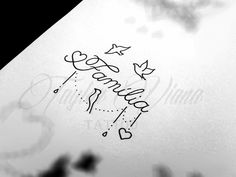 Tatuagem Mommy Tattoos, Sibling Tattoos, Leo Tattoos, Baby Tattoos, Mini Tattoos, Cute Tattoos, Beautiful Tattoos, Body Art Tattoos, Small Tattoos