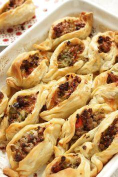 Fagottini croccanti con carne e verdure - tempodicottura.it
