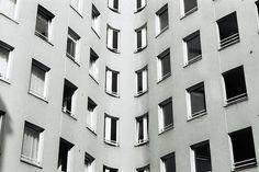 Bonjour Tristesse by Alvaro Siza Vieira. 1981-1984. Berlin.