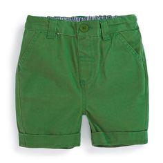 Boys' Twill Chino Shorts   JoJo Maman Bebe