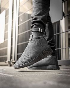 """a74dc88572244 HYPEBEAST on Instagram  """"Up close with The Good Will Out x adidas  Consortium NMD CS1 on feet"""