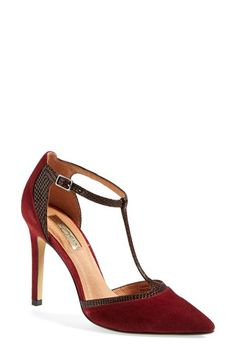 Halogen® Halogen 'Melissa' T-Strap Pump (Women) available at #Nordstrom