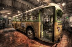 Rosa Bus in the  Ford Museum in Detroit.  Rafael Ferreira Photography