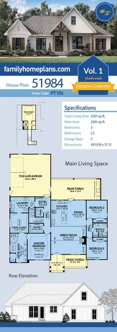 74 Best Family Home Plans images in 2016 | Kitchen design ... Simple Comfort Wiring Diagram on