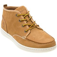 Timberland Cupsole Chukka ($60) ❤ liked on Polyvore featuring shoes, boots, ankle booties, casual, mens shoes, bootie boots, short lace up boots, lace up ankle booties, laced booties and chukka booties