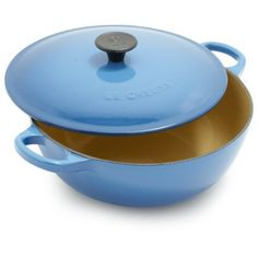 Le Creuset® Classic Marseille Curved Oven, 2¾ qt.--My absolute favorite, and comes at a very reasonable price.