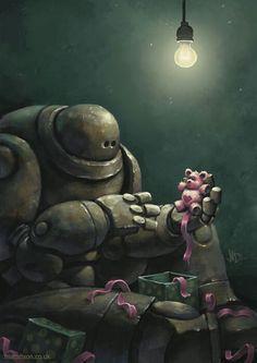 lonely robot matt dixon christmas wish - Google Search