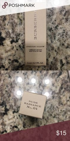 NIB Burberry fresh glow New in box. Information in photos. Open to offers Burberry Makeup Foundation