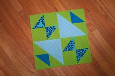 old maid's puzzle block tutorial