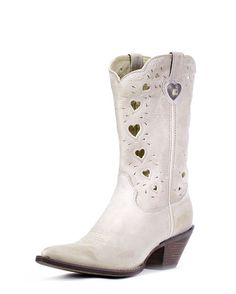 "wedding shoes nerded up by figgie shoes?? i think so! Women's 11"" Crush Heartfelt Boots - Light Taupe"