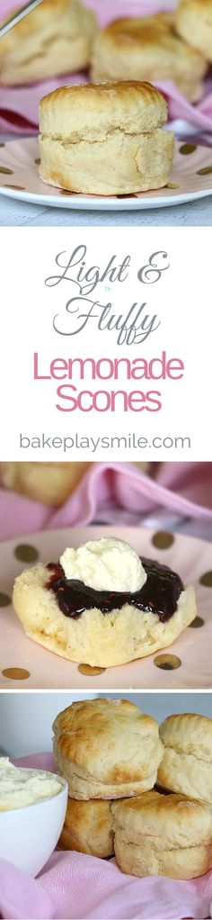 scones Deliciously light and fluufy. Everyone loved these - make a double batch next time. Baking Recipes, Cake Recipes, Dessert Recipes, Baking Desserts, Thermomix Scones, Lemonade Scone Recipe, Bellini Recipe, Tasty, Yummy Food