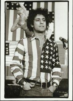 Abbie Hoffman. My Grandpa got me Steal This Book for my birthday a few years ago. Been in love ever since.