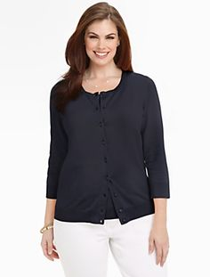 Talbots - Charming Cardigan | Sweaters | Woman