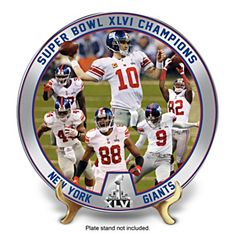 Relive the excitement of their NFL Super Bowl XLVI victory with The New  York Giants 2012 54e090c9b6a3e