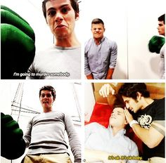Teen Wolf backstage derping
