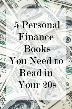 Bookshelf: 5 Personal Finance Books You Need to Read in Your 20s ~ Levo League