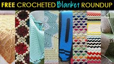 Crocheted Blanket Pattern Roundup part of the DaintyLoops.com pattern roundup.  Free Crocheted Blanket Pattern Roundup by Dainty Loops  http://daintyloops.com/2013/12/23/free-crocheted-blanket-pattern-roundup/  #crochet #crocheting #blanket #throw #decor #freepattern #pattern #roundup #yarn #diy #doityourself #howto #crochetpattern #free