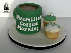 Macmillan Coffee Morning Cake asliceofhappiness