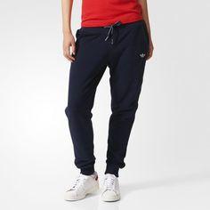 Pantalon de survêtement Slim Cuffed - bleu adidas  9f9b8be7738